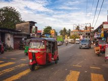Aluthgama,斯里兰卡 免版税库存图片