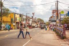 Aluthgama, Σρι Λάνκα Στοκ Εικόνες