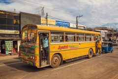Aluthgama, Σρι Λάνκα Στοκ Φωτογραφίες
