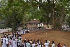 Aluthnuwara Dedimunda Devalaya em Mawanella, Sri Lanka Fotos de Stock Royalty Free
