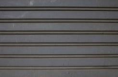 Żaluzi stell tekstury drzwiowy tło Obraz Stock