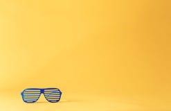 Żaluzja cieni okulary przeciwsłonecznych fotografia royalty free