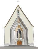 Alvalade kościół Zdjęcia Stock