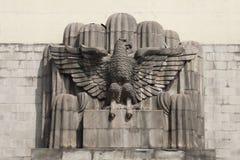 alvaro市墨西哥纪念碑obregon 免版税库存图片