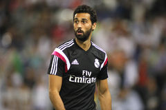 alvaro arbeloa Madrid real Obrazy Royalty Free
