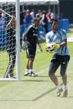 Alvaro Arbeloa at Practice Royalty Free Stock Photography