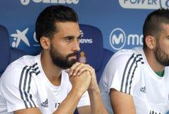 Alvaro Arbeloa van Real Madrid Stock Foto's
