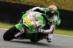 Alvaro Bautista HONDA MotoGP GP Włochy Mugello 2013 obwód Obrazy Stock