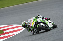 Alvaro bautista, moto gp 2014 Royalty Free Stock Photography