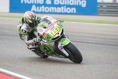 Alvaro Bautista MotoGp Стоковое Изображение RF