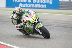 Alvaro Bautista MotoGp Royalty Free Stock Image