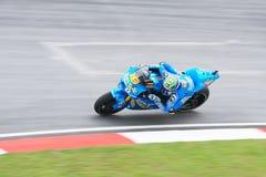 alvaro Bautista rizla Suzuki drużyna Zdjęcia Stock