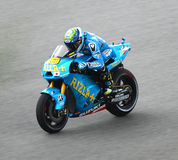 Alvaro Bautista from Rizla Suzuki MotoGP Team Stock Photo