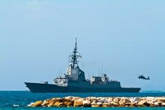 101 alvaro bazan de f大型驱逐舰 免版税库存图片