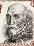 Alvaro de Bazan, 1$ος μαρκήσιος του πορτρέτου Santa Cruz Στοκ εικόνα με δικαίωμα ελεύθερης χρήσης