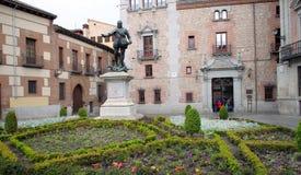 Alvaro de Bazan monument Royalty Free Stock Images
