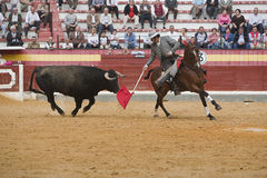 Alvaro Montes, bullfighter on horseback spanish Royalty Free Stock Image