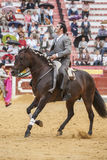 Alvaro Montes, bullfighter on horseback spanish, Jaen, Spain Stock Photo