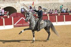 Alvaro Montes, bullfighter on horseback spanish Royalty Free Stock Photos
