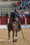 Alvaro Montes, bullfighter on horseback spanish witch garrocha Stock Photos