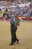 Alvaro Montes, bullfighter on horseback spanish witch garrocha Royalty Free Stock Photos