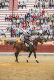 Alvaro Montes, bullfighter on horseback spanish witch garrocha ( Royalty Free Stock Images