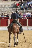 Alvaro Montes, bullfighter on horseback spanish witch garrocha ( Stock Photos