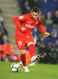 Alvaro Negredo Sevilla FC player Royalty Free Stock Photo