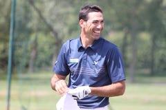 Alvaro Quiros no golfe de aberto France Imagem de Stock