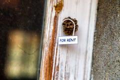 Alveare come casa per affitto Fotografie Stock
