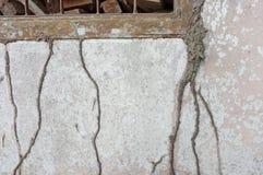 Alveare della termite sulla casa Fotografie Stock