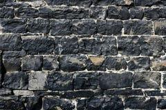 Alvenaria cinzenta velha da parede de pedra do grunge antigo Imagens de Stock Royalty Free