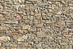 Alvenaria de pedra natural Fotos de Stock Royalty Free