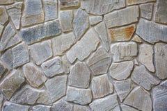 Alvenaria decorativa Fundo da textura do tijolo da parede de pedra Foto de Stock