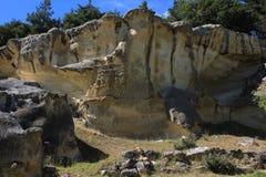 Alveolate skała Obrazy Stock