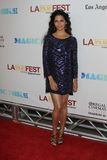 alves Angeles Camila końcowego festiwalu filmu galowy los noc premiera Obraz Royalty Free