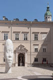 Alvida. Jaume Plensa Royalty Free Stock Photos