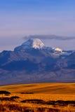 Alvin县Kangrinboqe在西藏 库存照片