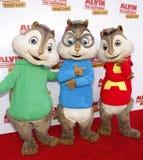 Alvin, Simon και Theodore Στοκ Εικόνες