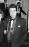 Alvin Stardust. British pop singer, attends a celebrity event on October 18, 1990 in London. He was previously known as Shane Fenton Stock Photo