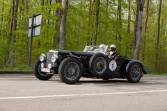 1938 Alvis Speed 25 bij ADAC Wurttemberg Historische Rallye 2013 Royalty-vrije Stock Foto's