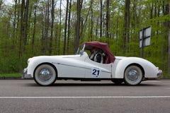 Alvis tbc 1946 14 på ADACEN Wurttemberg historiska Rallye 2013 royaltyfri bild