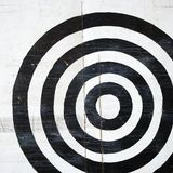 Alvo do Bullseye. fotografia de stock royalty free