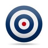 Alvo do círculo Imagem de Stock Royalty Free
