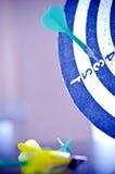 Alvo e dardos Fotografia de Stock