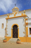 Alvor church, Portugal. Royalty Free Stock Images