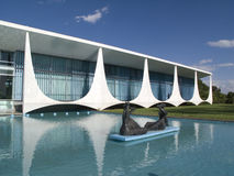 Alvorada Palace. In Brazilia, Brazil Stock Images
