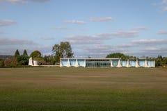 Alvorada Palace, official residence of President of Brazil - Brasilia, Distrito Federal, Brazil. Brasilia, Brasil - Aug 29, 2018: Alvorada Palace, official royalty free stock photo