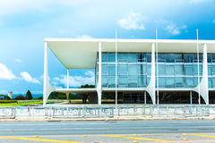 The Alvorada Palace Residence of the President of Brazil Royalty Free Stock Image