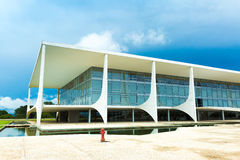 The Alvorada Palace Residence of the President of Brazil Stock Images
